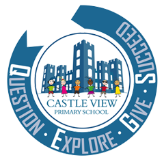 Castle View Nursery School - Matlock Logo